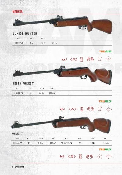 arms air rifles CARBINES