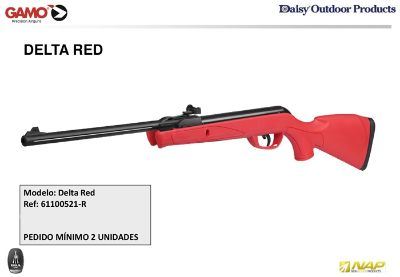 airsoft rifles gas GAMO DELTA RED