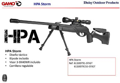 airsoft rifles gas HPA STORM