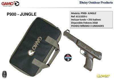 armas pistolas co2 P900 JUNGLE