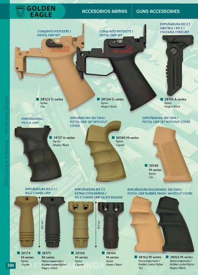 arms GRIPS FOR GUNS