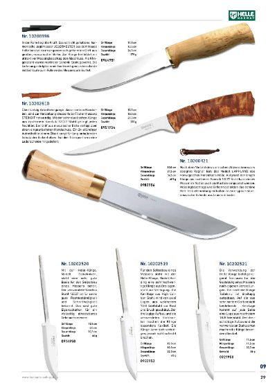 hunting knives mountain knives HELLE NORDIC KNIVES