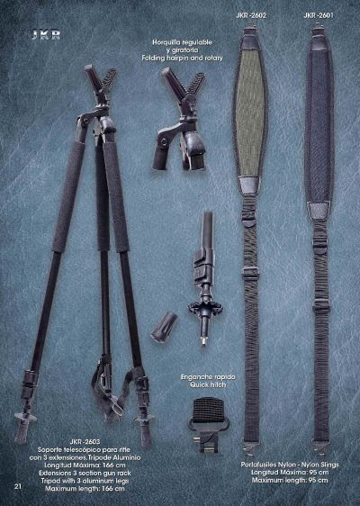 hunting and observation RIFLE HOLDER AND TELESCOPIC STANDS