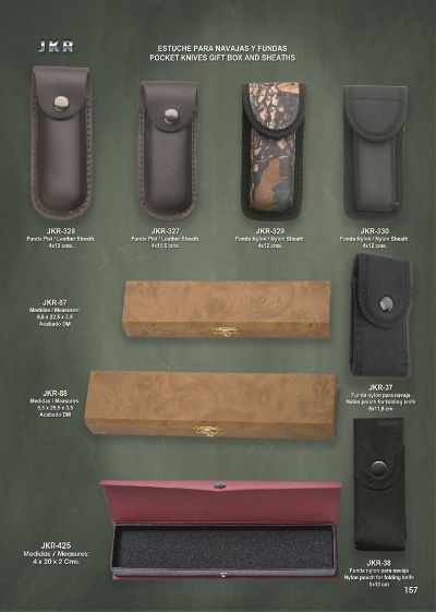 pocketknives CASES AND BOXEN