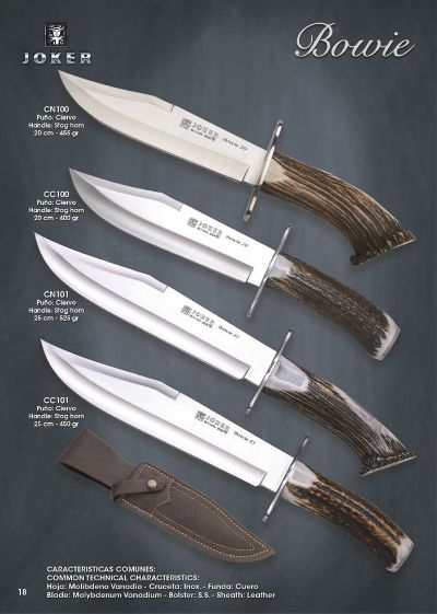hunting knives BOWIE
