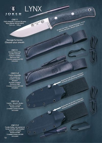 hunting knives mountain knives BS9 LYNX
