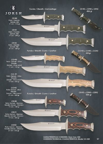 hunting knives mountain knives MOUNT KNIVES