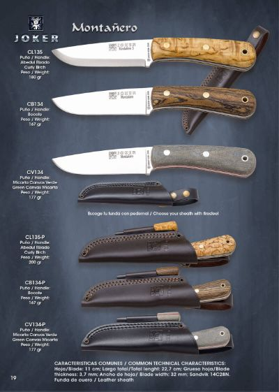 tactical knives MONTAÑERO