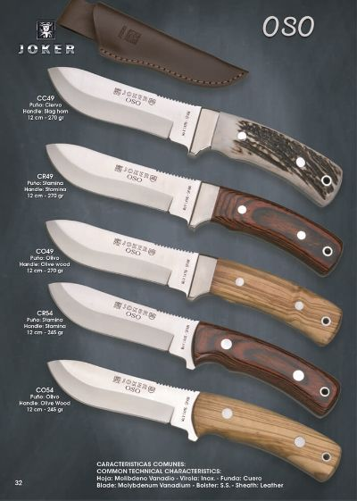 hunting knives mountain knives OSO 2