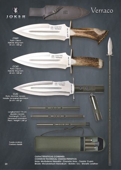 hunting knives VERRACO