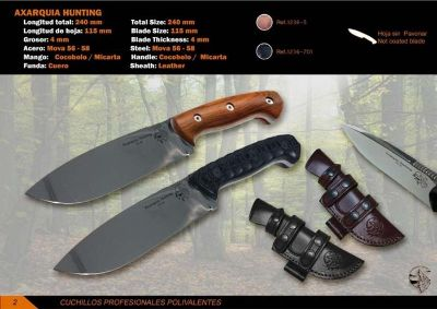 hunting knives SURVIVAL KNIFE AXARQUIA HUNTING