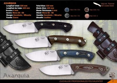 hunting knives SURVIVAL KNIFE AXARQUIA