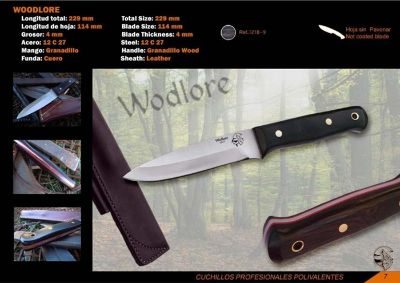coltelli tattici tattico COLTELLO WOODLORE