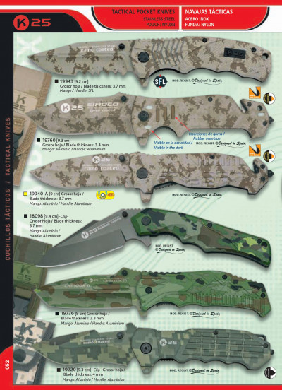 tactical knives TACTICAL CAMOUFLAGE KNIVES