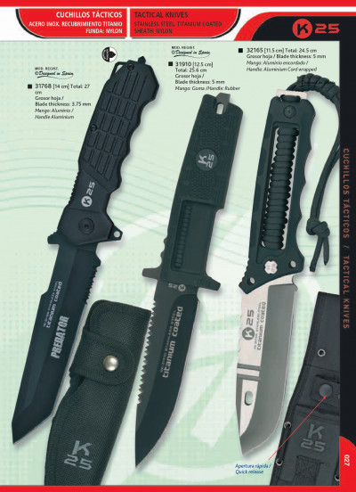 tactical knives TITANIUM KNIVES AND REASONER