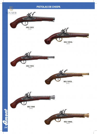 arms antique replicas FLINTLOCK PISTOLS 2