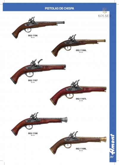 arms antique replicas FLINTLOCK PISTOLS 3