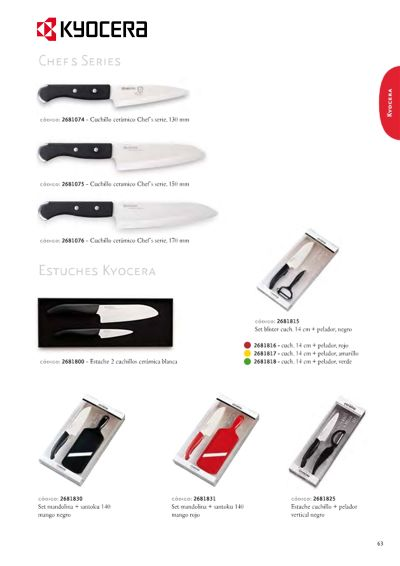 professional knives CHEFS SERIES