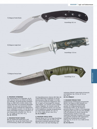 tactical knives MULTITALENTE