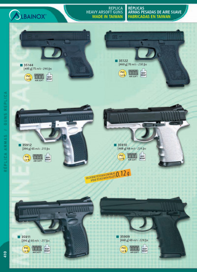 airsoft spring pistols HEAVY GUNS AIRSOFT