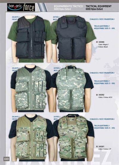 camping and survival vests TACTICAL VESTS