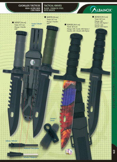 tactical knives TACTICAL KNIVES