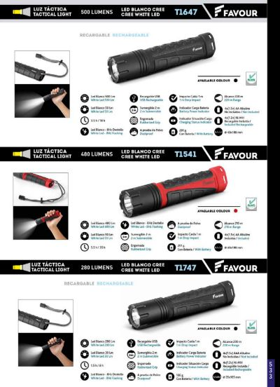 camping and survival TACTICAL LIGHTS