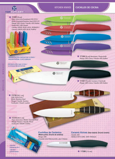 professional knives KITCHEN KNIVES TOPCUTLERY