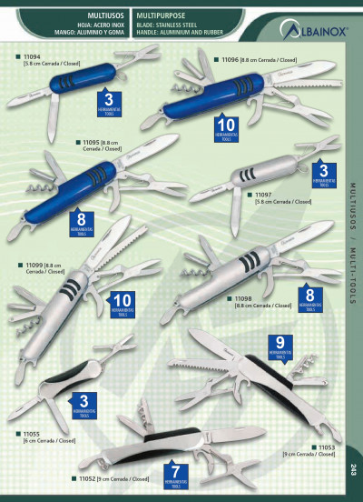 multipurpose penknives MULTIPURPOSE