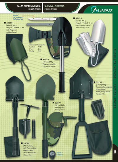 camping and survival SURVIVAL SHOVELS