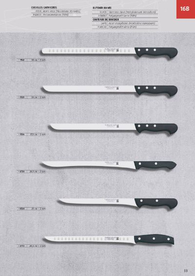professional knives HAM AND SALMON KNIVES