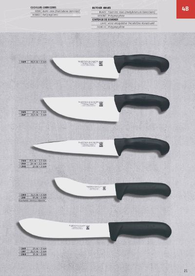professional knives BUTCHER KNIVES MOVA BLADE