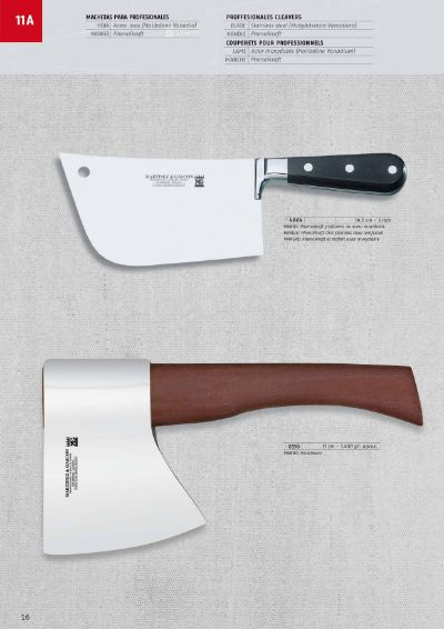 professional knives butcher PROFESSIONALS CLEAVERS
