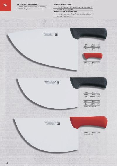 professional knives CLEAVERS STAINLESS STEEL