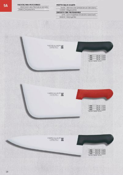 professional knives CLEAVERS FOR PROFESSIONALS