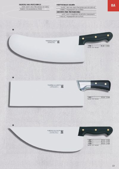 professional knives CLEAVERS