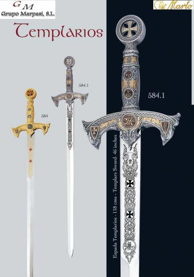 SWORDS TEMPLARIOS