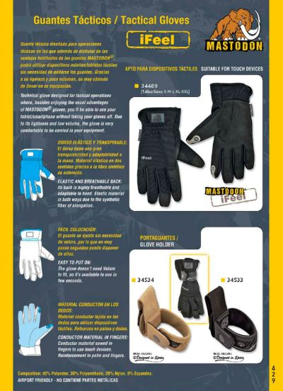 objects personal clothing TACTICAL GLOVES IFEEL