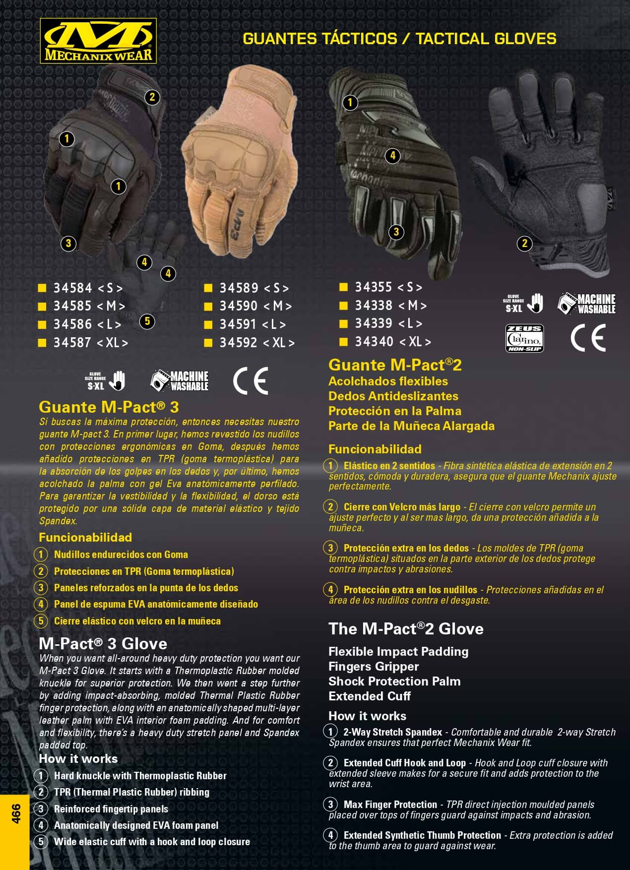 GUANTES M-PACT MECHANIX WEAR - Mechanix Wear