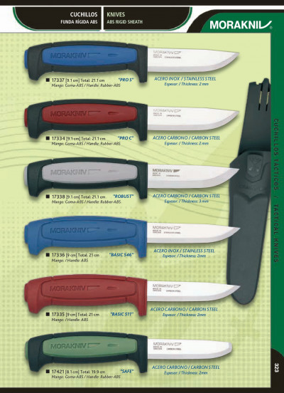 tactical knives STAINLESS STEEL AND CARBON KNIVES