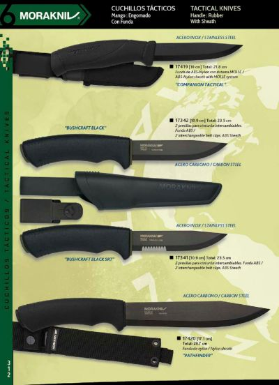 tactical knives MORAKNIV BUSHCRAFT KNIVES
