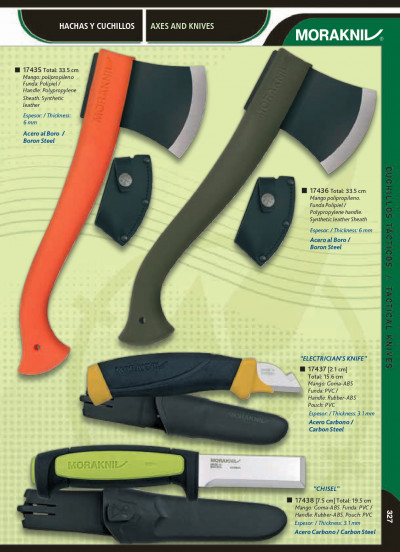 tactical knives AXES AND KNIVES MORAKNIV