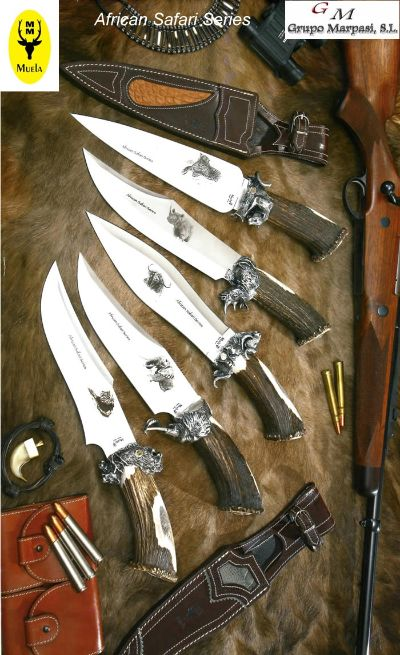hunting knives artisans AFRICAN SAFARI SERIES