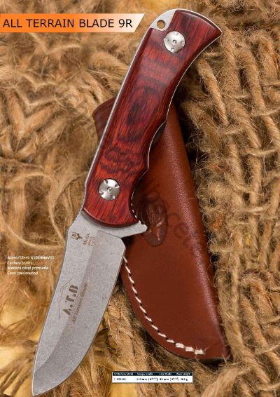 hunting knives ALL TERRAIN BLADE MUELA