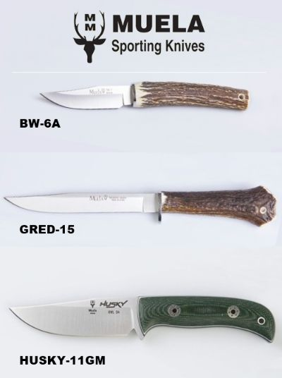 hunting knives BW-6A GRED-15 HUSKY-11GM KNIVES