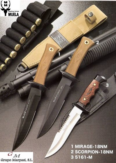tactical knives TACTICAL KNIVES MIRAGE SCORPION 5161