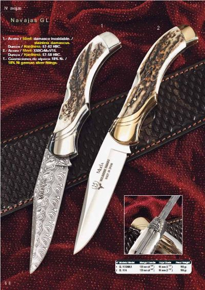 POCKETKNIVES MUELA GL 1