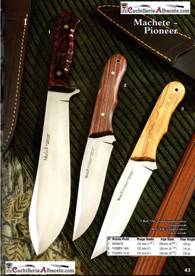 hunting knives mountain knives KNIVES MUELA PIONEER