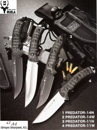 tactical knives TACTICAL KNIVES MUELA PREDATOR