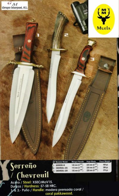 hunting knives REMATE CHEVREUIL HUNTING KNIVES
